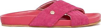 Fiorelli Womens Uma Fuchsia Open Back Shoes