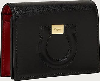 Salvatore Ferragamo Women Gancini coin purse Black