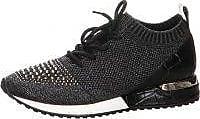 La Strada Sneaker aus Metallic Mesh