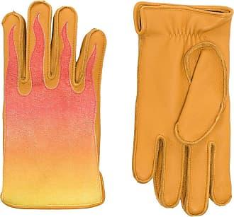 Kagawa Gloves Par de luvas com efeito degradê - YELLOW