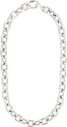 Jack Vartanian Colar The Chain prata com ródio branco - Metálico