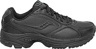 Saucony Women's Grid Omni Walker Walking Shoe, Black, 6 B(M