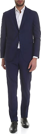 Boglioli Blue single-breasted two buttons suit