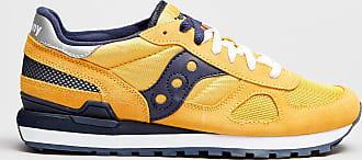 Rabaini Saucony - Sneakers in pelle Shadow - Giallo