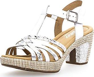 8b48f3f76d8e Gabor Comfort 82.736-51 Damen Sandalette aus Glattleder mit Effekten  Riemchen, Groesse 4,