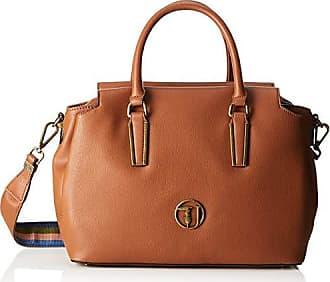 86b625e920 Trussardi 75B00427-9Y099999, Borsa a Secchiello Donna, Marrone (Leather),  32x21x14