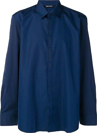 Neil Barrett Navy Series shirt - Azul