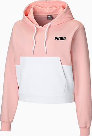 Puma Womens Hoodie, Crystal Rose, size X Large, Clothing