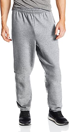 Hanes Mens EcoSmart Fleece Sweatpant, Light Steel, Small (Pack of 2)