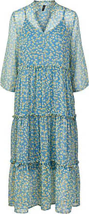 Y.A.S Claris 3 4 Langes Sommerkleid - L
