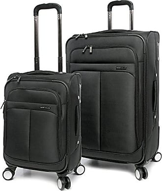 ddecd05e8 Perry Ellis 2 Piece Prodigy Lightweight Luggage Set, Black