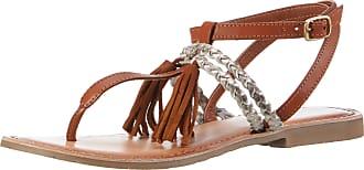Marco Tozzi Marco Tozzi Premio 28129, Womens Ankle Strap Sandals, Brown  (Cognac Comb de1eaaae32