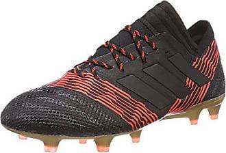 sale retailer 09df4 d9d70 adidas Nemeziz 17.1 FG, Chaussures de Football Homme, Noir Schwarz Rot, 43