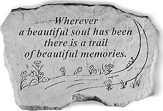 Kay Berry Wherever A Beautiful Soul Has Been Memorial Stone - 63220