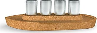 Fred Perry 5232902 Party Boat Shot Glass Flight Serving Set