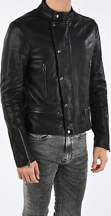 Diesel BLACK GOLD Leather LAZING Jacket size 52