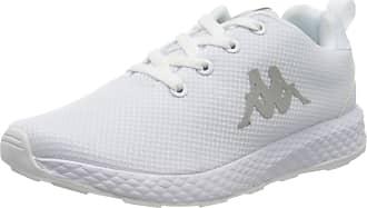 Kappa Womens 242784-1010_38 Low-Top Sneakers, White, 5 UK