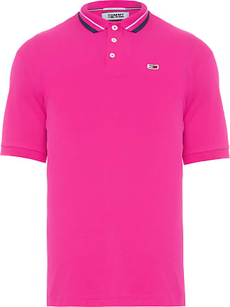 Tommy Jeans POLO MASCULINA CLASSICS STRETCH - ROSA