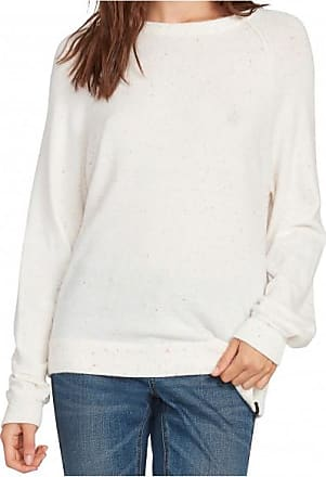 Volcom Womens Over N Over Sweater Pullover Donna | bianco