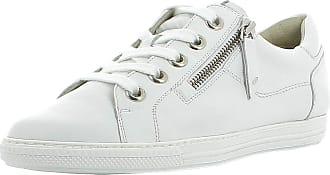 Paul Green Women Trainers 4940, Ladies Low-Tops, Low Shoe,Street Shoe,Lacer,Sport Shoe,Leisure,White,40.5 EU / 7 UK