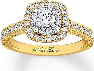 Neil Lane Engagement Ring 7/8 ct tw Diamonds 14K Two-Tone Gold