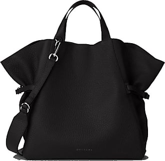 Orciani borsa in pelle Fan Soft Media
