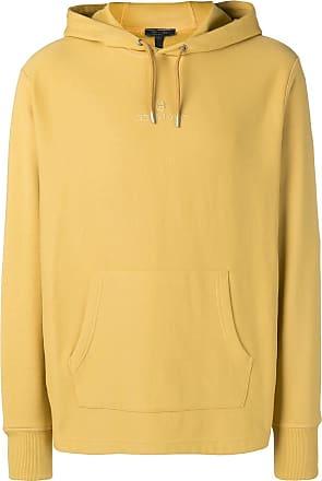 Belstaff Moletom com logo bordado - Amarelo
