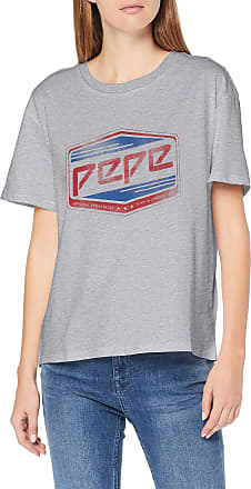 Pepe Jeans London Womens Musette T-Shirt, (Grey Marl 933), Large