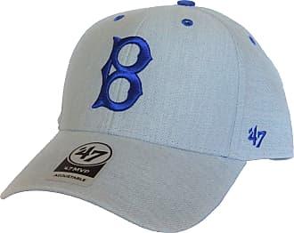 47 Brand Brooklyn Dodgers Storm Cloud MVP - Mens Cap - Grey - One Size Adjustable