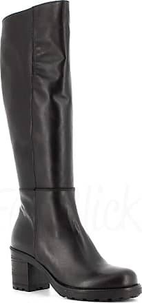 Generico Made in Italy Leather Boot with Zip - Black Black Size: 5 UK