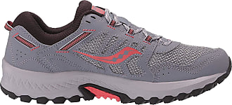 Saucony Womens Excursion Tr 13 Grey/Coral Track and Field Shoe, 6.5 UK