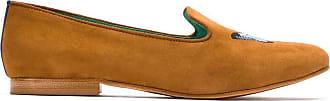 Blue Bird Shoes Loafer Butterfly de cmaurça - Marrom
