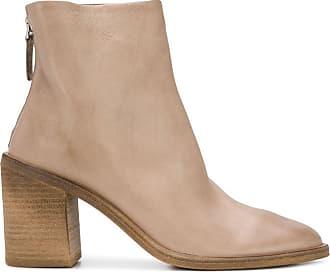 Marsèll Ankle boot em couro - Neutro
