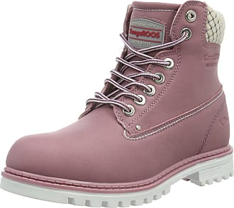 Kangaroos Womens Riveter W I Ankle Boots, Pink 661, 5 UK