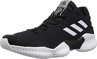 finest selection c8446 3ef9f adidas Mens Pro Bounce 2018 Low Basketball Shoe, White Black, 9.5 M US