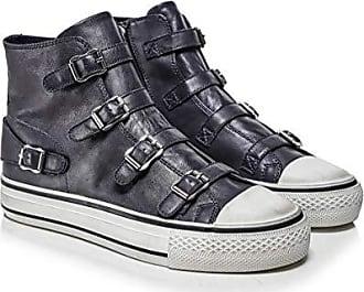 Leder Sneaker für Damen in Grau: Jetzt bis zu −50% | Stylight