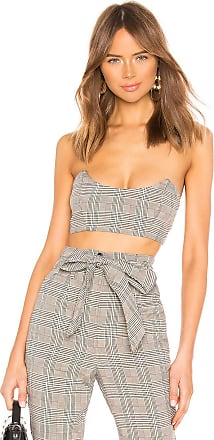 7db272e0cc4 Lovers + Friends Orion Crop Top in Gray