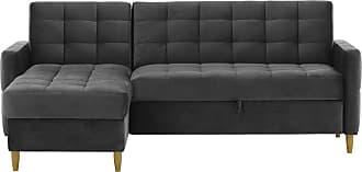 SLF24 Velocity Corner Sofa Bed With Storage-Velluto 19