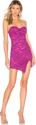 NBD x Naven Blossom Dress in Fuchsia