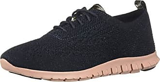 584dbc1aa6 Cole Haan Womens Zerogrand Knit Winterized Sneaker, Blueberry, 8 B US