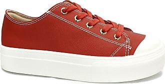Bebecê Tênis Casual Flatform Bebecê Bandana Red