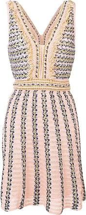M Missoni intarsia knit dress - Pink