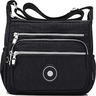 GFM Womens Nylon Cross Body Shoulder Bag (88)(S2-1218-KL)