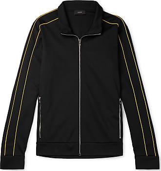 Joseph Slim-fit Piped Tech-jersey Track Jacket - Black
