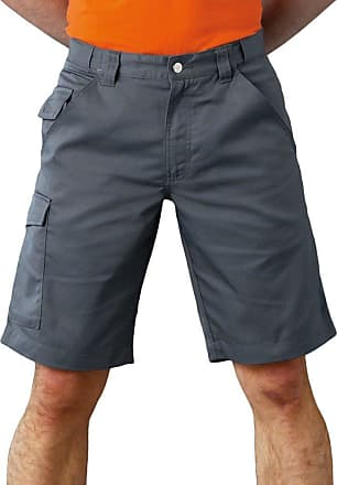 Russell Athletic Russell Polycotton Twill Shorts Convoy Grey 46