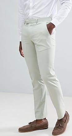 Farah Farah Skinny Suit Trousers In Green