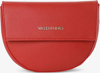 VALENTINO Sea Winter Saddle Bag Umhängetasche Abendtasche Tasche Bordeaux Rot