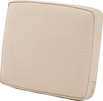Classic Accessories Patio Lounge 4 in. Thick Tall Back Cushion Heather Indigo Blue - 62-040-INDIGO-EC