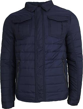 Tom Tailor Tom Tailor Supremo Jacket Uni 1/1 Stand-Up - Blue - M