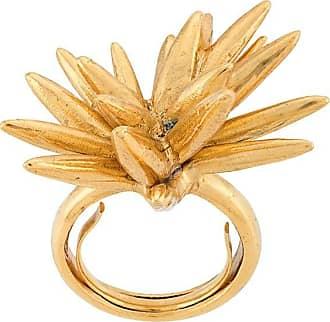 Oscar De La Renta Star-shaped ring - Gold